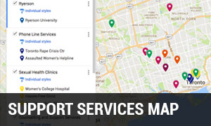 Support Services Map